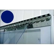 "PVC strips - 200x2mm (8″x0.08"") opaque  PVC strips blue - price per meter"