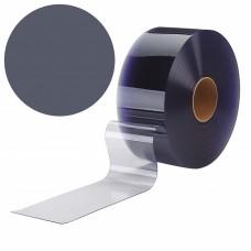 "PVC strips - 200x2mm (8″x0.08"") opaque  PVC strips grey - rolls"