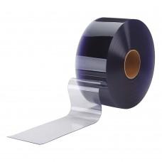 "PVC strips - 100x1,2mm (4″x0.047"") clear PVC strips polar grade - rolls"