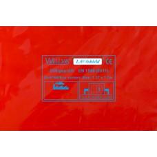 """Welding curtain - WELDAS Red 1,37m x 1,7m (4´ 6"""" x 5´ 7"""")"""