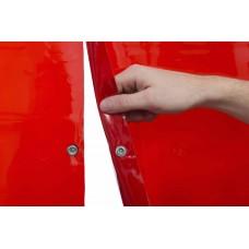 """Welding curtain - WELDAS Red 1,37m x 1,8m (4´ 6"""" x 5´ 11"""")"""