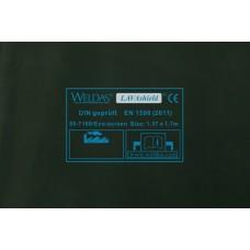 """Welding curtain - WELDAS Green 1,37m x 1,7m (4´ 6"""" x 5´ 7"""")"""