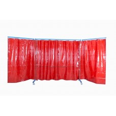 VELDER 3 - Welding screen with curtains and arms