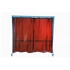 VELDER 2 - Welding screen with curtains
