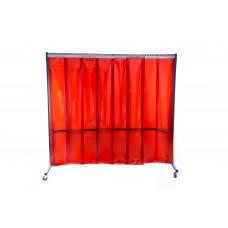 VELDER 4 - Welding screen with PVC strip curtains